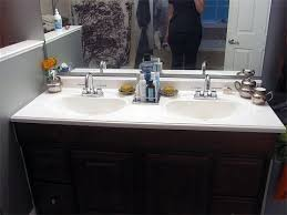 Refinishing Bathroom Vanity YouTube Classy Refinishing Bathroom Vanity