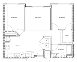 Furniture Room Dimensions U0026 Floor Plans U2014 Georgetown LawPlan Of Living Room