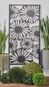 modern sunflower wall decor sunflower