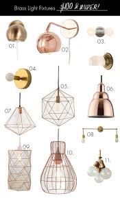 modern lighting fixture. brass light fixtures on any budget under 100 modern lighting fixture