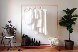 rolling copper pipe clothing rack garment rack on wheels 4 long 259 00