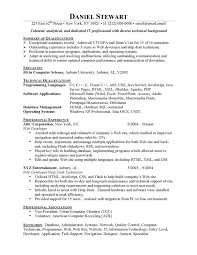 Remarkable Entry Level Computer Science Resume 40 For Cover Letter For  Resume With Entry Level Computer