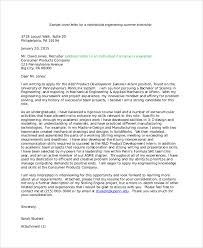 Letter Of Intent Sample Template Inspiration 48 Internship Letter Of Intent Samples Sample Templates