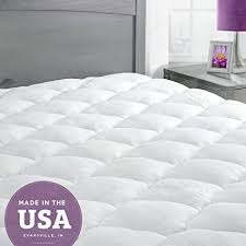 mattress stores evansville in. Delighful Mattress ExceptionalSheets Bamboo Mattress Pad With Fitted Skirt  Extra Plush  Cooling Topper Hypoallergenic Made Throughout Stores Evansville In