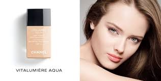 chanel vitalumiere aqua 45 is a newly introduced foundation range that i previously examined here also sabrina at the beauty look book did a very