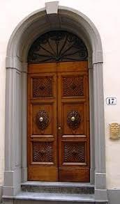 door furniture. Decorative Door In Florence, Italy. Furniture R