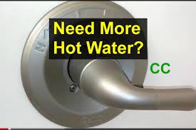 bathroom tub faucet temperature adjustment home repair series you