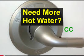 bathroom tub faucet temperature adjustment home repair series you