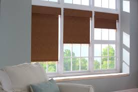 curtains blackout roman shades with brown curtain and area sofa