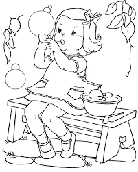 Coloring Book Pages For Girls 20 Vintage Coloring Book Images Free