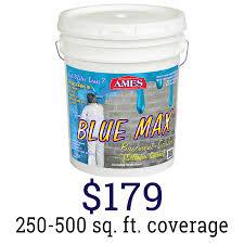 ames blue max. Blue Max® 100% Liquid Rubber Waterproof Sealant Ames Max