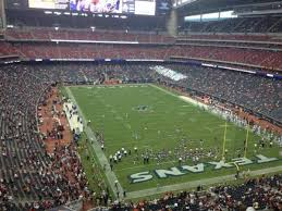 Reliant Seating Chart Football Nrg Stadium Section 550 Home Of Houston Texans
