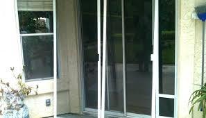 replace sliding screen door ment fix handle rollers on patio installing lock