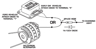 engine keeps running new msd ignition grumpys performance the wire that goes to the charging indicator the voltage is kept from entering the msd the diagram below shows the proper installation for early ford