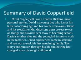 anderson dickens pp summary of david copperfield  david copperfield is one charles dickens
