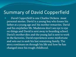 anderson dickens pp summary of david copperfield  david copperfield is one charles dickens