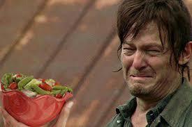 New Meme Proves That Daryl Dixon Hates Salad More Than Walkers [PHOTO] via Relatably.com