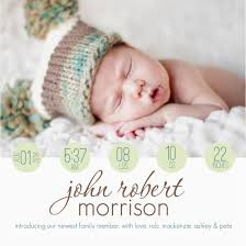 Birth Announcement Quotes Interesting Baby Birth Announcement Quotes Thevillasco