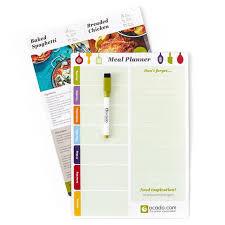 Ocado Magnetic Meal Planner Ocado