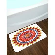 red bathroom rugs red round bathroom rug round red mandala bath rug bright red bath rugs