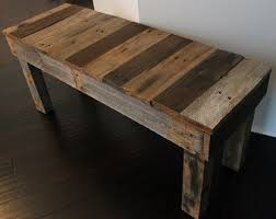 old pallet furniture. Reclaimed Pallet Wood Bench Old Furniture