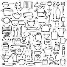 Afbeeldingsresultaat Voor Kleurplaat Keuken Het Restaurant In