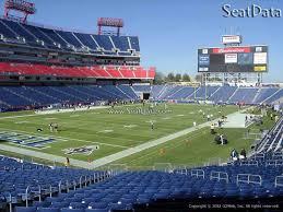 Nissan Stadium Chart Nissan Stadium Section 119 Tennessee Titans