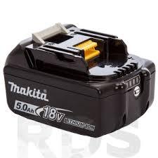 """<b>Аккумулятор</b>, <b>18В</b>, <b>5Ач</b>, Li-ion, тип BL 1850B, """"<b>MAKITA</b>"""" /197280-8"""