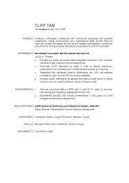 Resume Consultant Fees Resume For Study