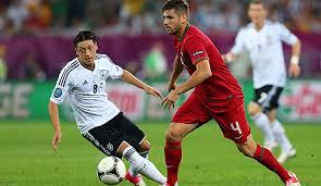 Unsere kicker jubeln nach dem schlusspfiff. Gruppe B Deutschland Portugal