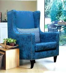 blue velvet accent chair. Blue Velvet Accent Chair And Ottoman Royal