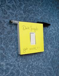 Sticky notes switch.