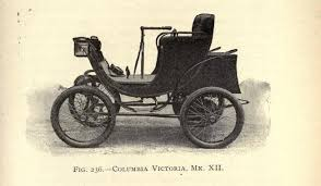 first electric motor car. Columbia Victoria 7 First Electric Motor Car R