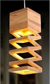 chandelier pendant lighting wooden