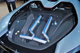 bmw i8 spyder engine. Plain Engine 2012 LA BMW I8 Spyder Concept Powertrain For Bmw I8 Engine