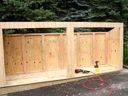 delightful staggering build trash bin build trash shed oscar cange garbage diy outdoor plans free