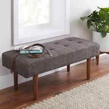 modern furniture pieces. modern furniture pieces from walmart bhg flynn upholstered bench m