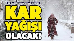 Bugün hava nasıl olacak? 21 Kasım Türkiye geneli hava durumu