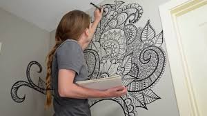 Henna Wall Designs Showing Photos Of Henna Wall Art View 10 Of 20 Photos