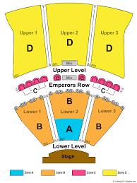 Ocean City Nj Music Pier Seating Chart Caesars Atlantic City Seating Chart