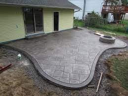 stamped concrete patio installation do