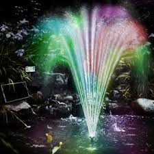 UK Water Features Water FeaturesSolar Powered Water Feature With Lights