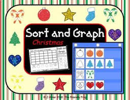 Sort And Graph Pocket Chart Cards December Edition