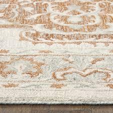 lr home modern traditions orange area rug 8 x