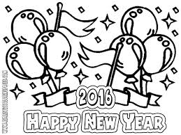 Coloring Pages Printing Nice New Years Sheet Design Gallery Cool