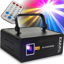 Ibiza Light Ibiza Light Scan 500 Rgb 500mw Animation Laser Patterns Tunnels Spirals And Shapes