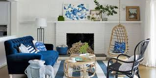 Gray, blue & yellow living room furniture & decorating ideas. 25 Best Blue Rooms Decorating Ideas For Blue Walls And Home Decor