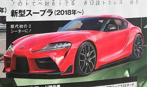 Toyota Supra 2018 LEAKED pictures reveal car's specs, design, power ...
