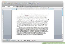 how to write a research paper sample research papers  image titled write a research paper step 4