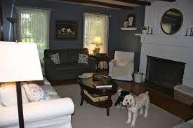 here is another angle of the room my dogs always have to get their noses in the photos there is my jennylund chair in the corner